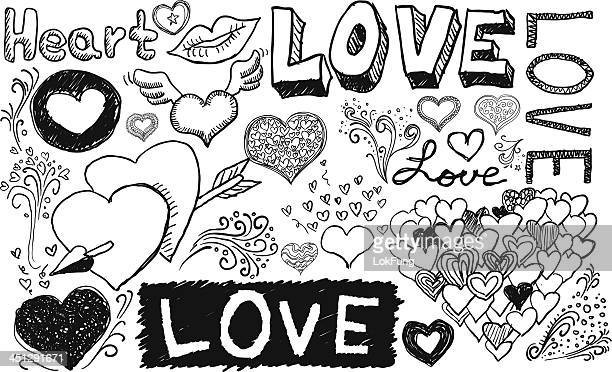 love and care - lipstick kiss stock illustrations, clip art, cartoons, & icons