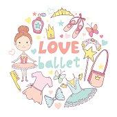 Love ballet frame