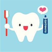 I Love Brushing My Teeth