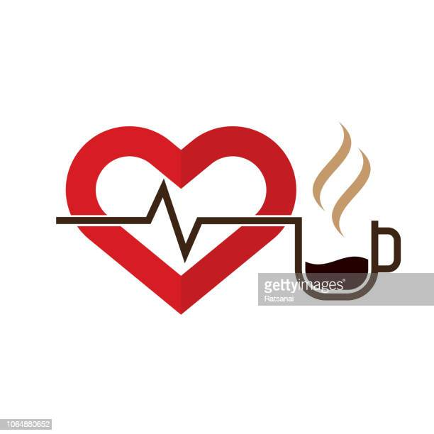 love coffee - hot drink stock illustrations, clip art, cartoons, & icons