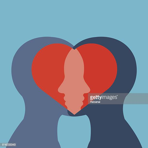 love concept - masculinity stock illustrations, clip art, cartoons, & icons