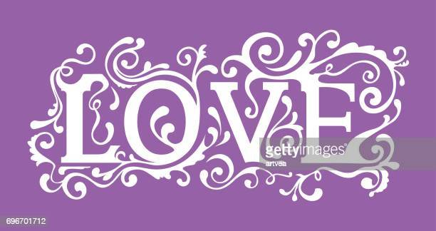 Love Curve Lettering