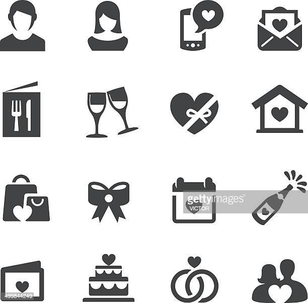 Love, Date and Wedding Icons - Acme Series