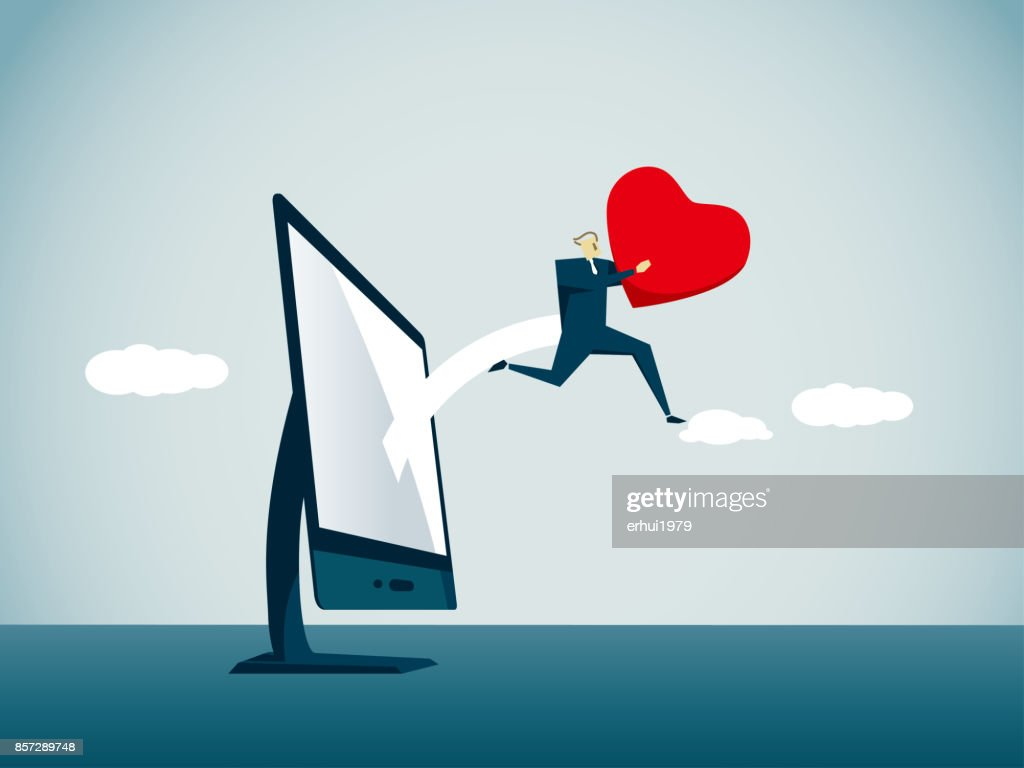 love - emotion : stock illustration