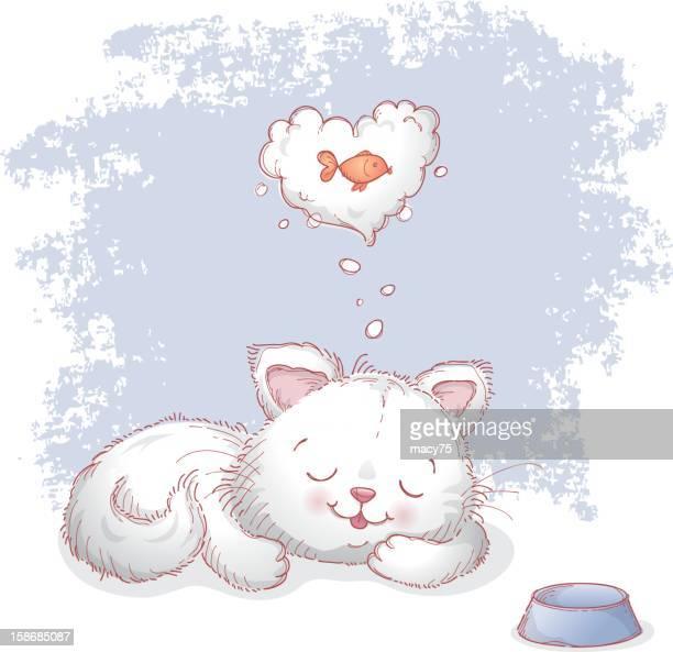 I love fish cat dream