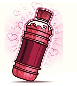 Love flavored soda