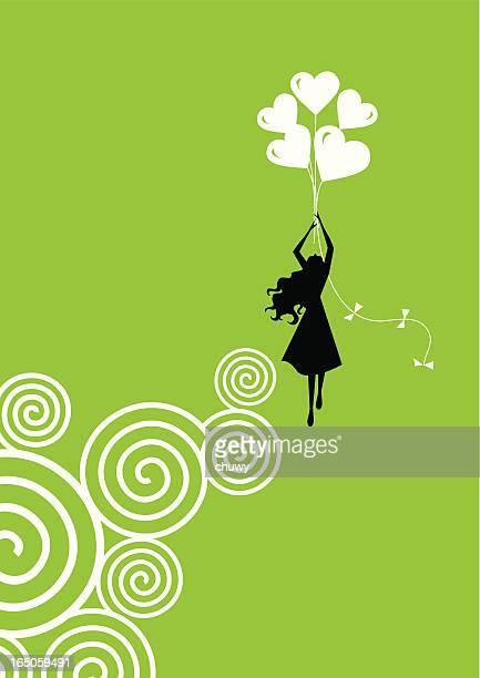 ilustrações, clipart, desenhos animados e ícones de amor de voo - voando