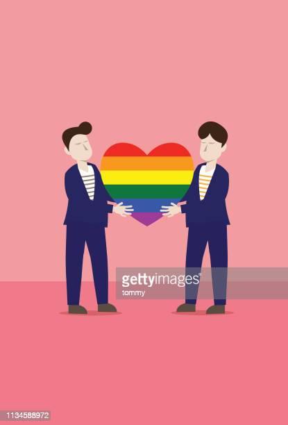 すべてのための愛 - ゲイ点のイラスト素材/クリップアート素材/マンガ素材/アイコン素材