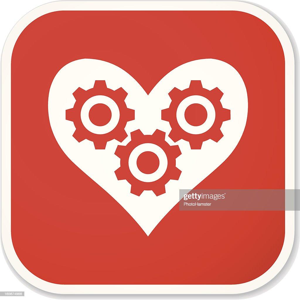love gears sq sticker