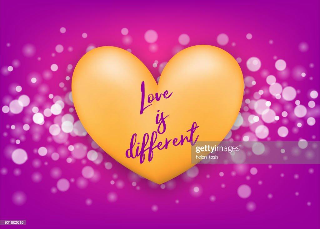 Love heart St Valentines Day
