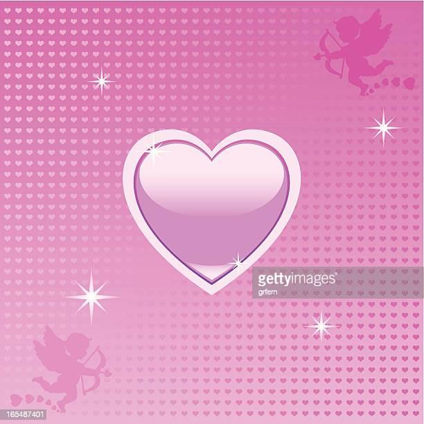 love heart - animal heart stock illustrations, clip art, cartoons, & icons
