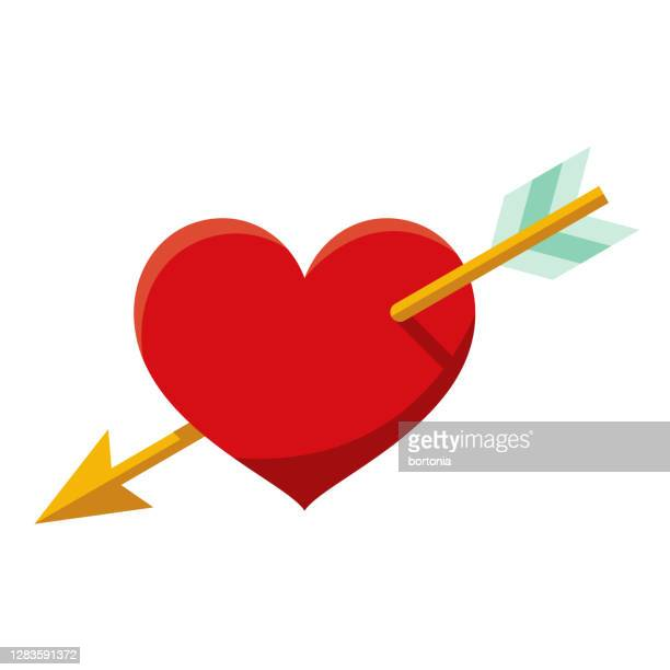love icon on transparent background - cupid stock illustrations