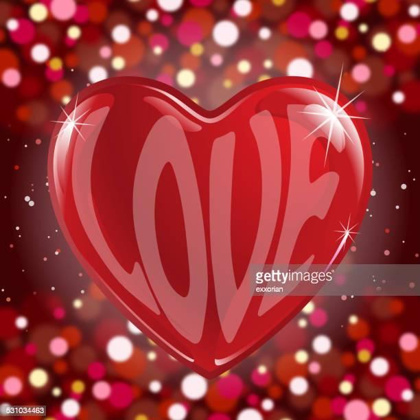 love in my heart symbol - blink stock illustrations, clip art, cartoons, & icons