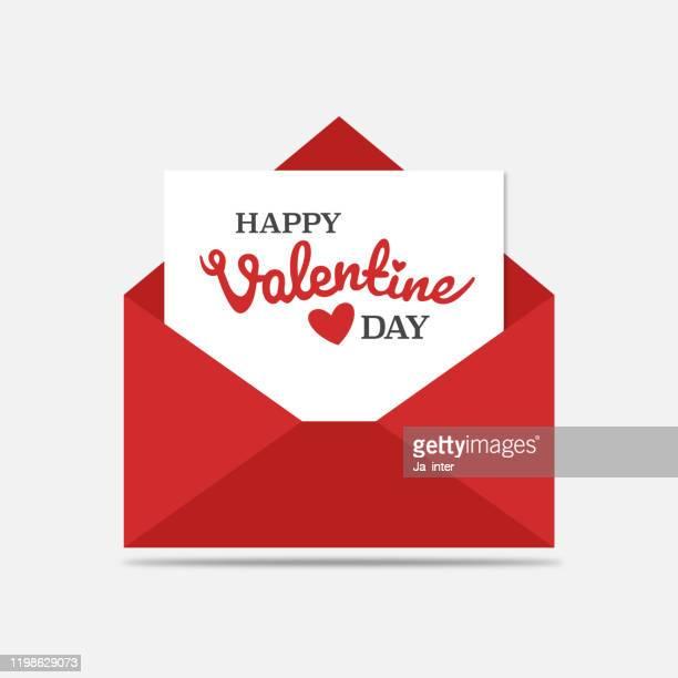 ilustraciones, imágenes clip art, dibujos animados e iconos de stock de carta de amor - carta de amor