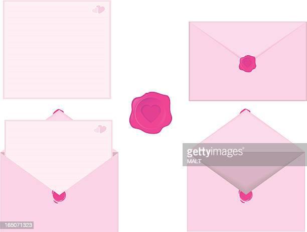 love letter - love letter stock illustrations, clip art, cartoons, & icons