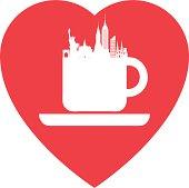 Love New York coffee
