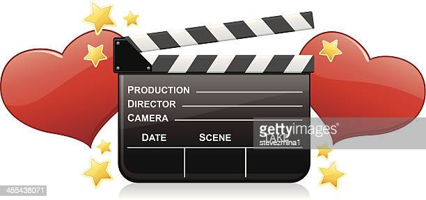love of film - producer stock illustrations, clip art, cartoons, & icons