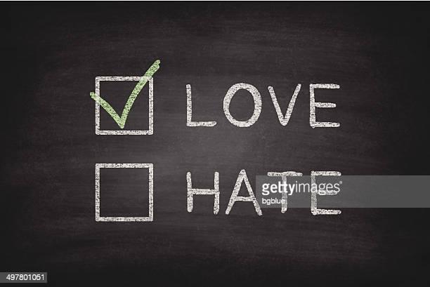 Love or Hate Checkboxes on Blackboard - Chalkboard