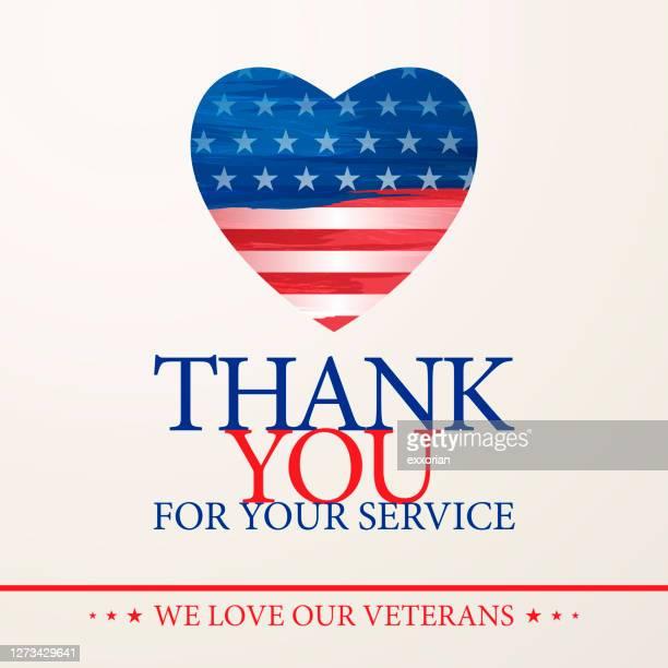 ilustraciones, imágenes clip art, dibujos animados e iconos de stock de love our veterans - primera guerra mundial