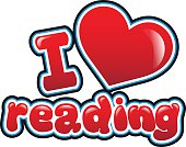 I love reading in bubble font