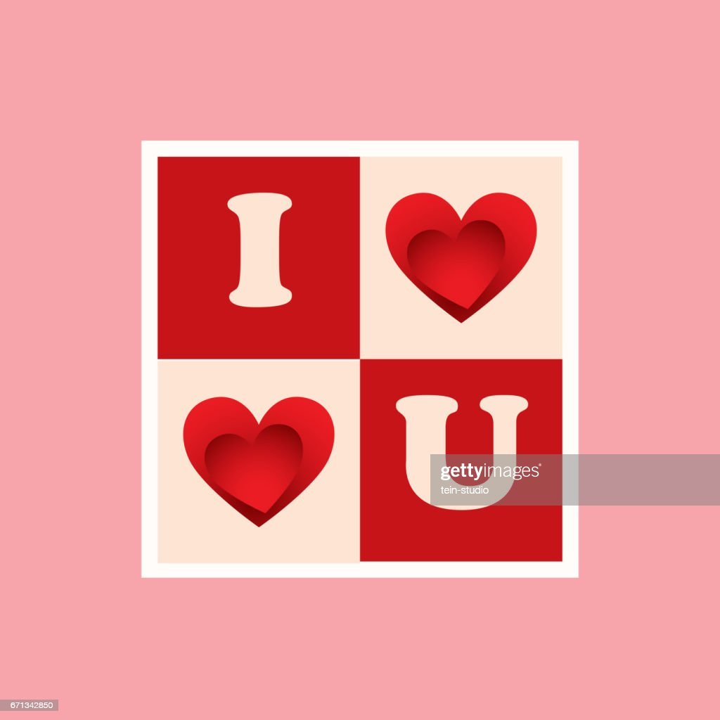Love Template Background Happy Valentines Day Vector Art Getty Images