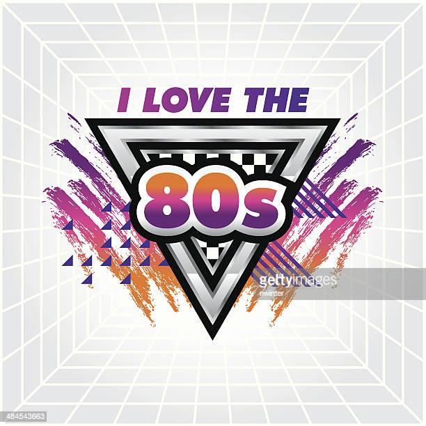 I love the 80's emblem