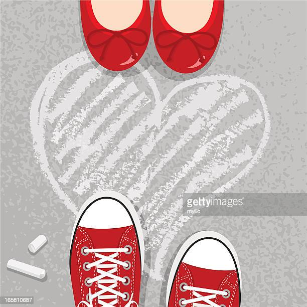 love - flirting stock illustrations, clip art, cartoons, & icons