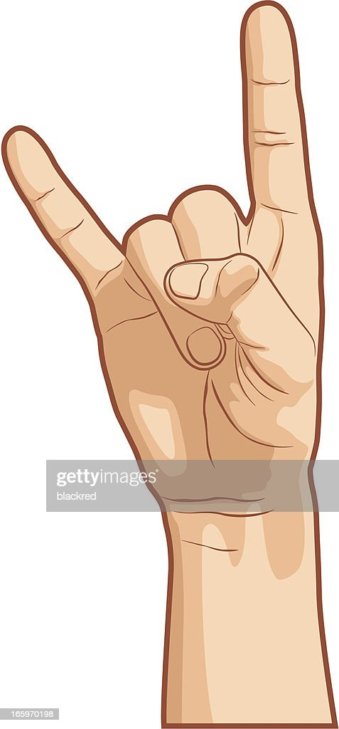 Download I Love You Hand Gesture stock illustration - Getty Images