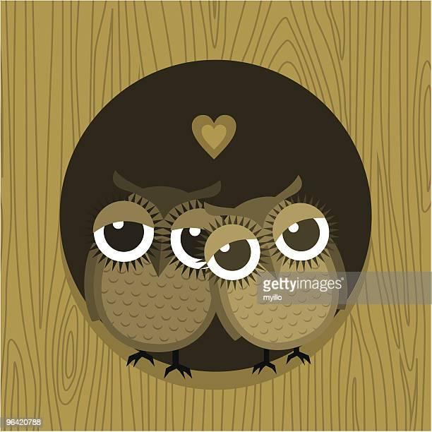 I love owlways できます。バレンタインカード