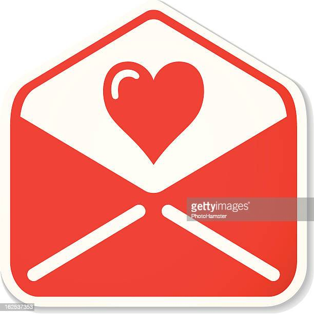 lovely mail sticker