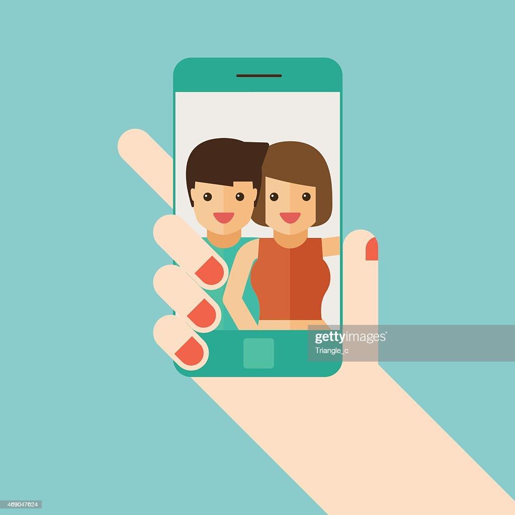 lover selfie