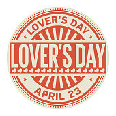 Lovers Day stamp
