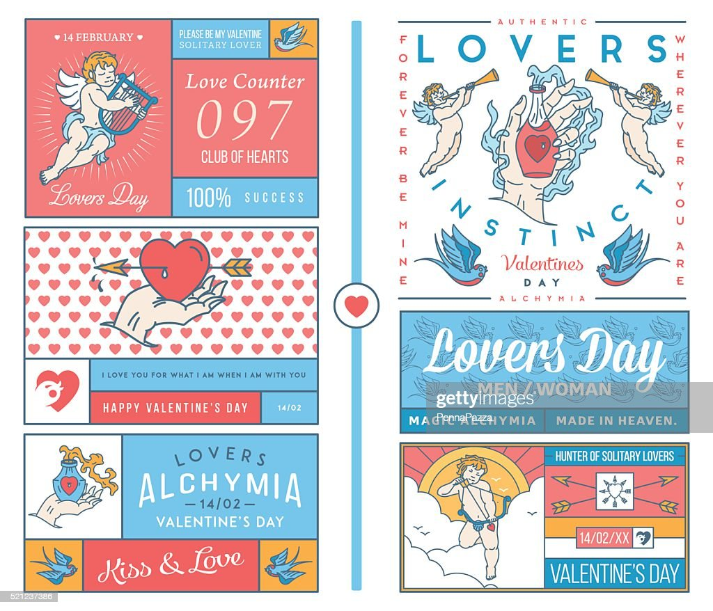 Lovers Greeting Cards colored