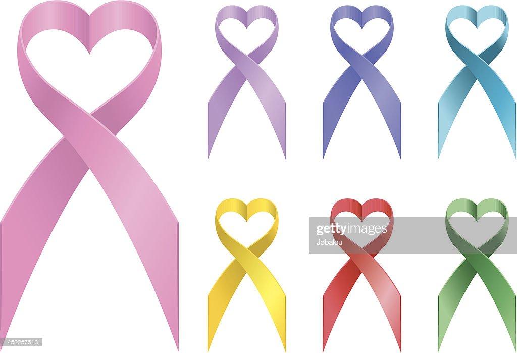 Loving Awareness Ribbons stock illustration - Getty Images