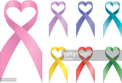 Loving Awareness Ribbons Vector Art Getty Images