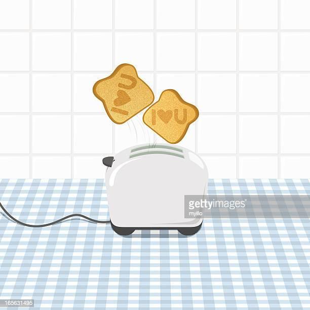 ilustrações de stock, clip art, desenhos animados e ícones de amoroso pequeno-almoço - mesa cafe da manha
