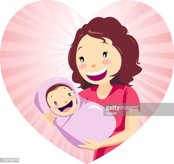 Liebevolle Mutter