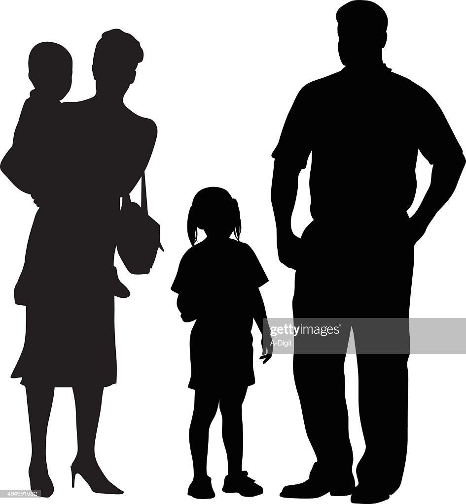 Loving Parents And Children