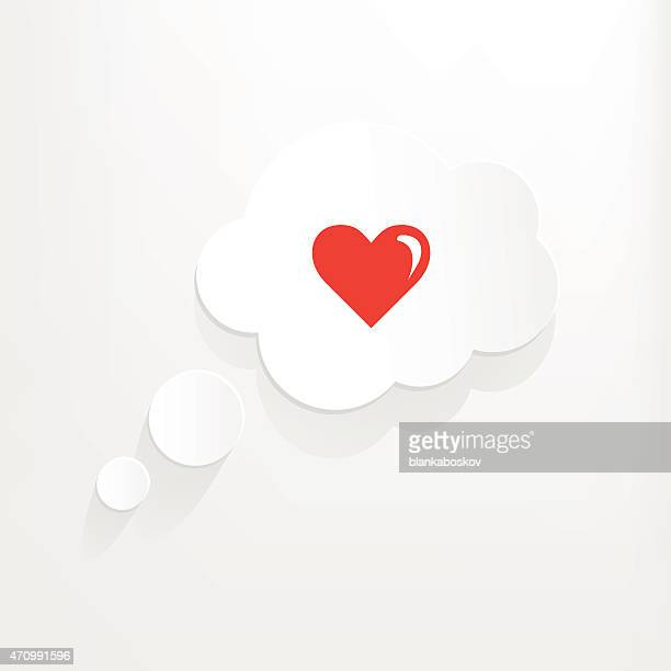 loving thought - thinking of you card stock illustrations