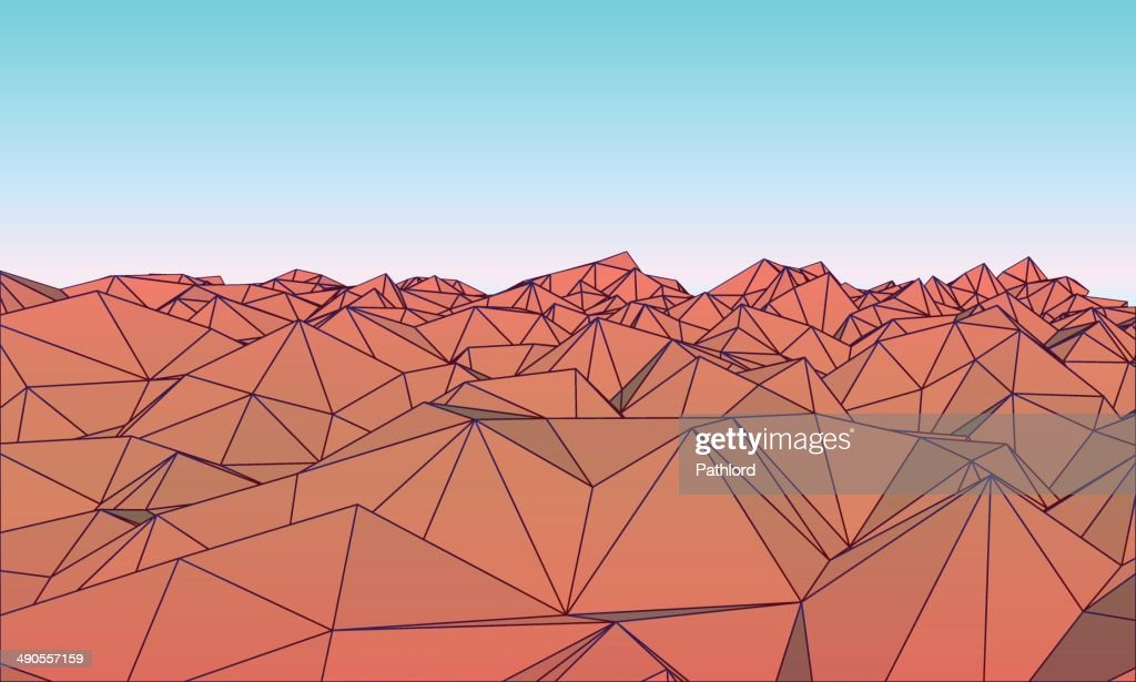 Low polly Mountains