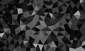low poly background black color