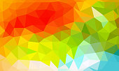low poly background colorful color, multicolor