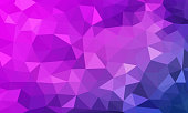 low poly background purple color