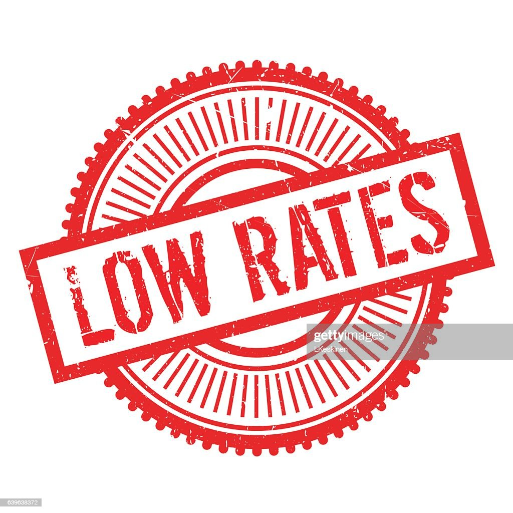 Low rates stamp