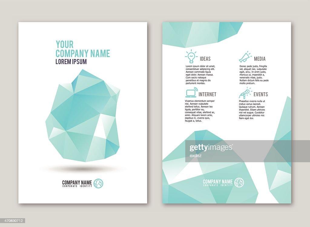 Lowpoly design for print : Vector Art