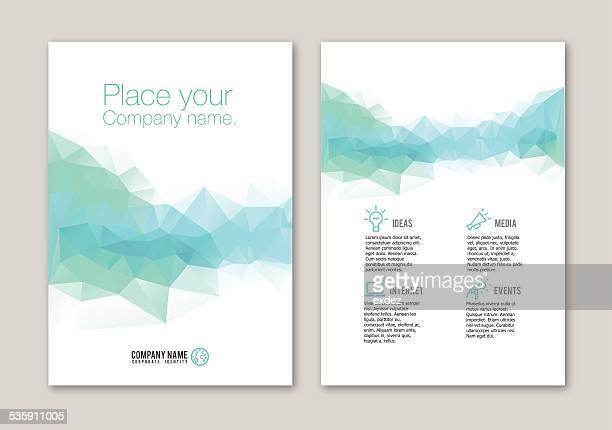 Lowpoly portfolio Design