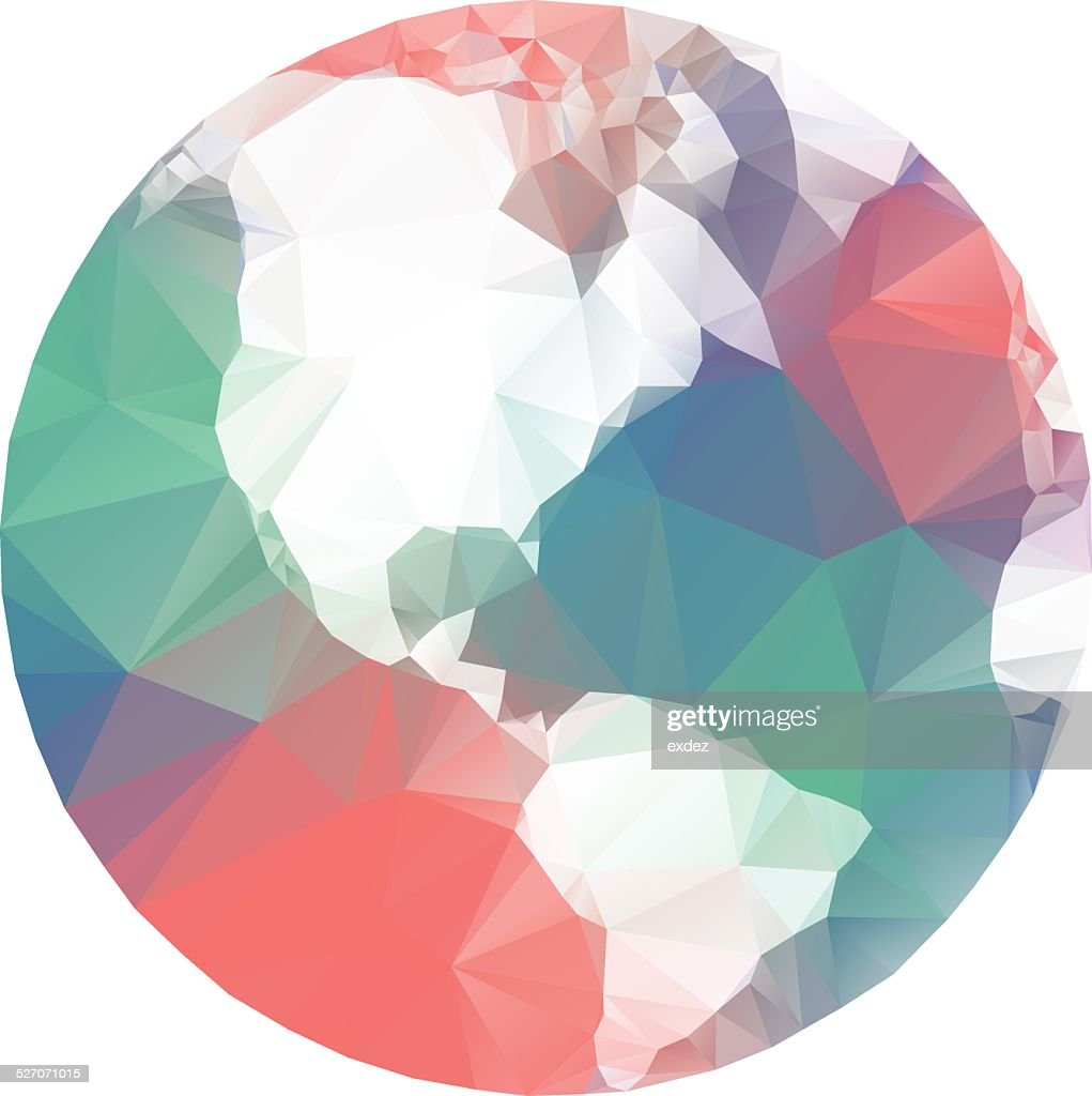 Lowpoly World : stock illustration