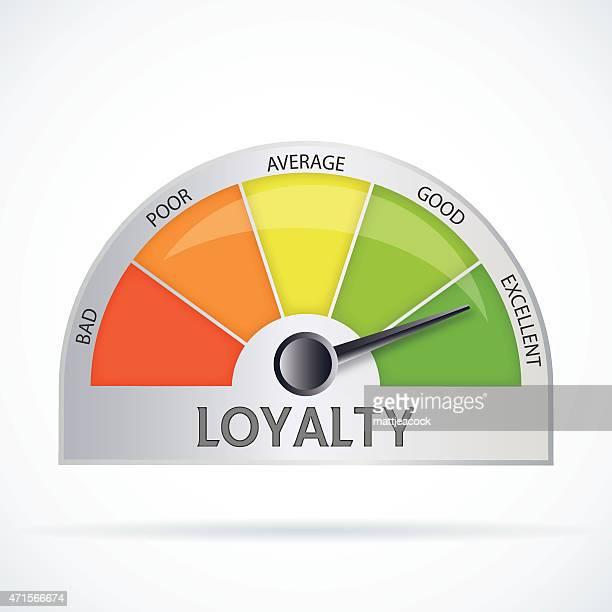 ilustraciones, imágenes clip art, dibujos animados e iconos de stock de diagrama de lealtad - lealtad