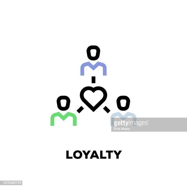 Loyalty Line Icon