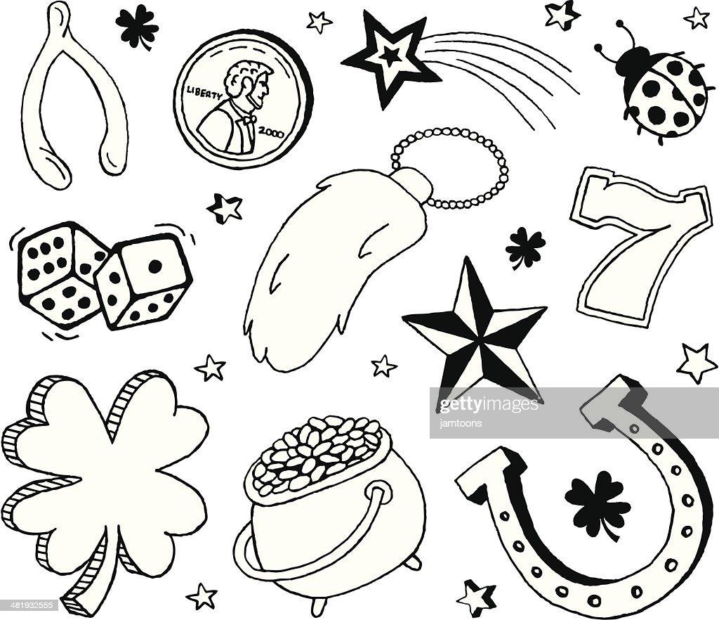 Luck Doodles